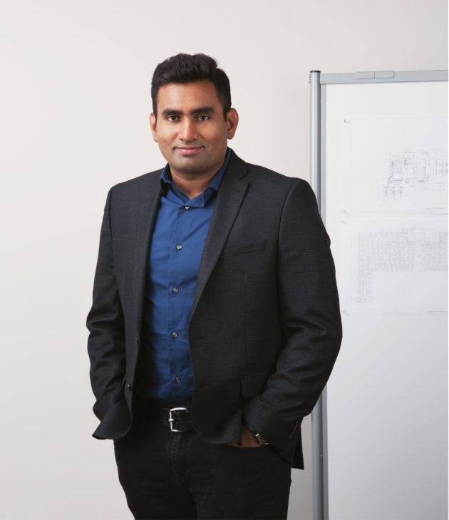 Portrait photo of Anand Parthasarathy