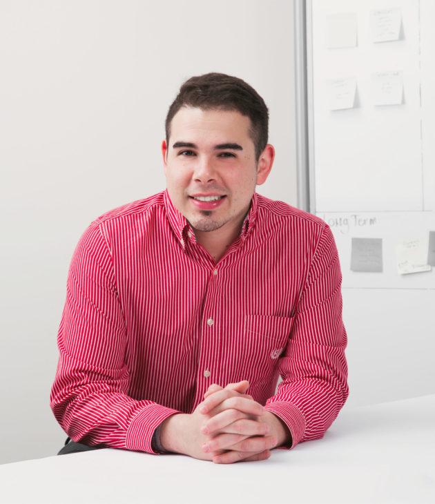 Portrait photo of Andres Rodriguez-Burns