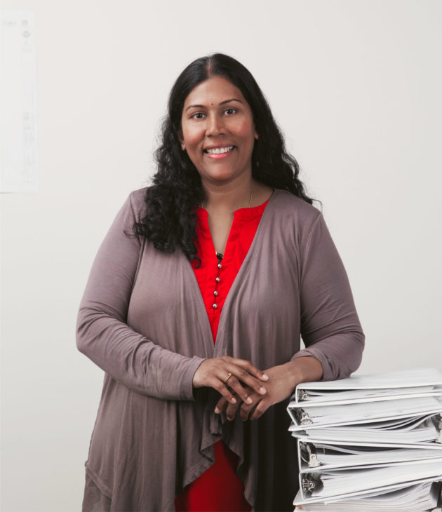 Portrait photo of Kanchana Anand