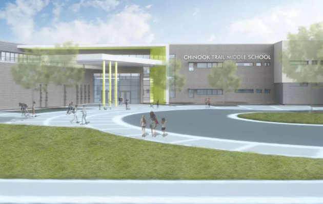 Photo of Chinook Trail Middle School, Academy District 20