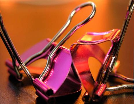 pink-purple-binder-clips
