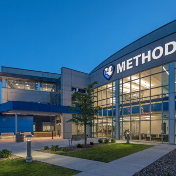 Methodist Hospital Administrative Building - Exterior